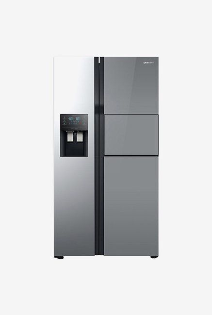 Buy Samsung Rs51k56h02a 571 L Refrigerator Mirror Black Online At