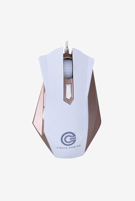 Circle CG Marksman 4 Gaming Mouse (White)