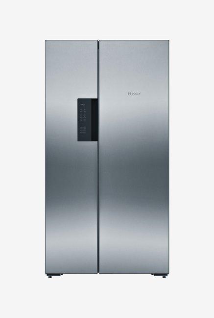 Bosch KAN92VI35 604L Side by Side Refrigerator (Silver)