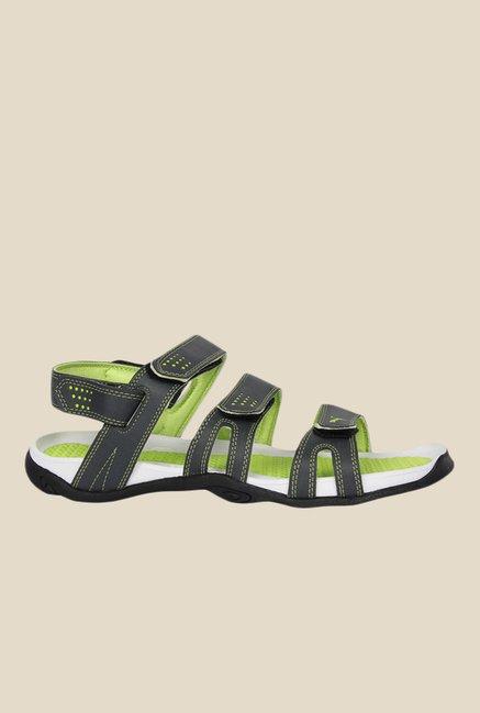 1ad1b05e53f2b7 Buy Puma Aripon 3 DP Dark Grey   Green Floater Sandals for Men at ...