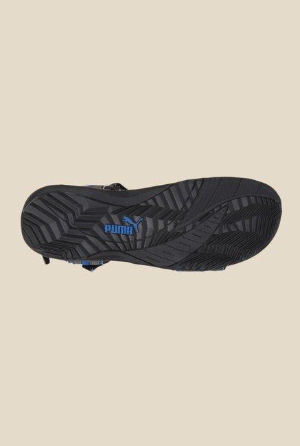 8377617195e3c9 Buy Puma Nova Ind. Grey   Blue Floater Sandals for Men at Best Price ...
