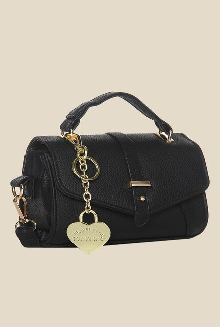 Toniq Mini Black Sling Bag