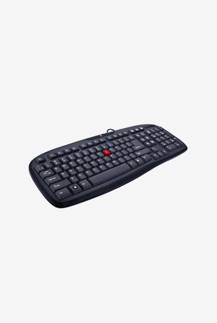 iBall Winner USB 2.0 Wired keyboard  Black