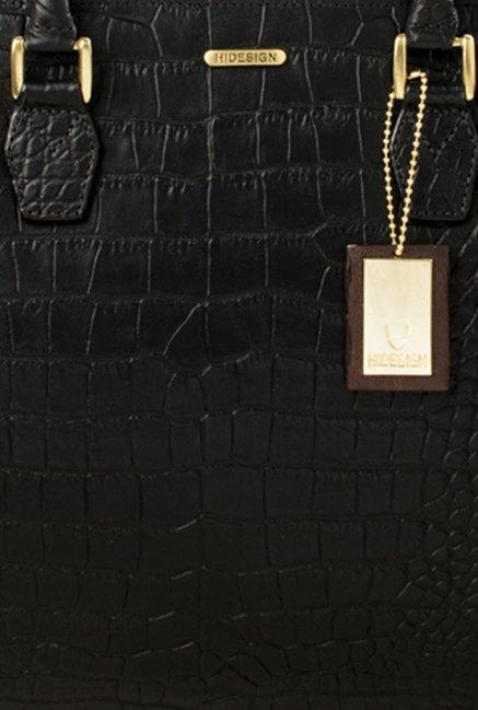 Buy Hidesign Kester Black Leather Handbag For Women At Best Price ... 57cd5fd783