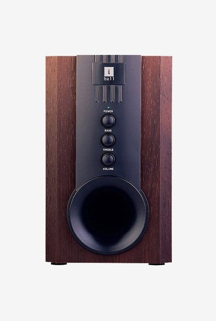 iBall Tarang 2.1 Channel 40 W Computer Speaker (Brown)