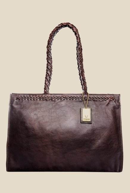 Hidesign Juno 03 Brown Leather Shoulder Bag