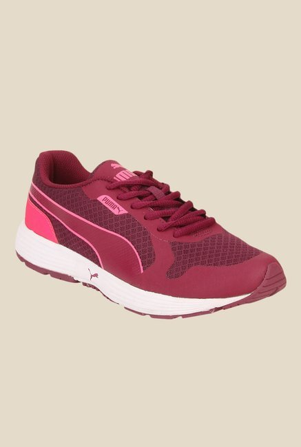 efb0413e52a Buy Puma Future Runner II Wn s IDP Pink Running Shoes for Women at Best  Price   Tata CLiQ