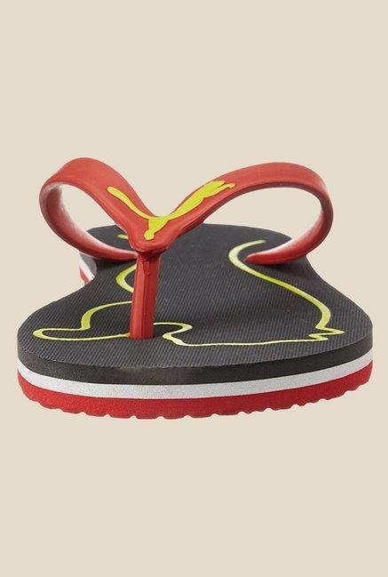 01218fd299fc16 Buy Puma Luca DP Red   Black Flip Flops for Men at Best Price   Tata ...