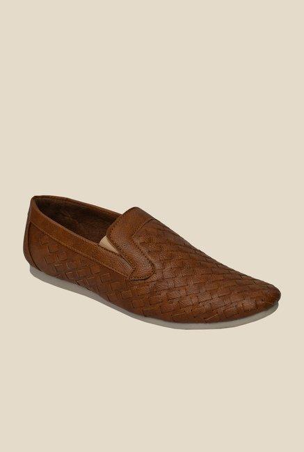 Molessi Brown Casual Slip-Ons