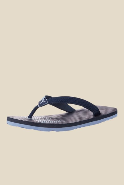 a5d7bd3b7dcb Buy Puma Miami Fashion II IDP Navy Blue Flip Flops for Men at Best Price   Tata  CLiQ