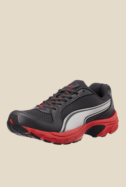 Buy Puma Bolster DP Black   Red Running Shoes for Men at Best Price   Tata  CLiQ 1cdfb92d5
