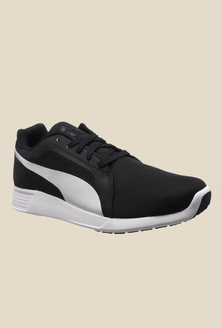 f6fdeb4b Buy Puma ST Trainer Evo Black & White Running Shoes for Men at Best ...
