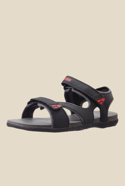 ca2e3db8a1b7 Buy Puma Elego IDP Black Floater Sandals for Men at Best Price ...