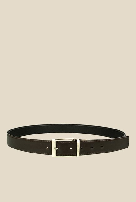 Hidesign Alberto Black Reversible Leather Belt