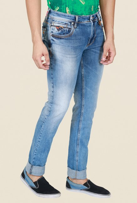 Lawman Pg3 Light Blue Lightly Washed Jeans