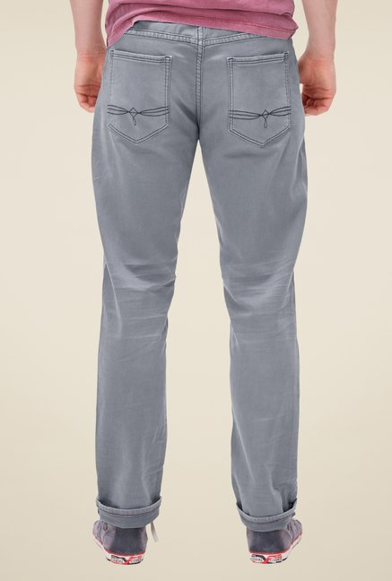 s.Oliver Grey Raw Denim Jeans