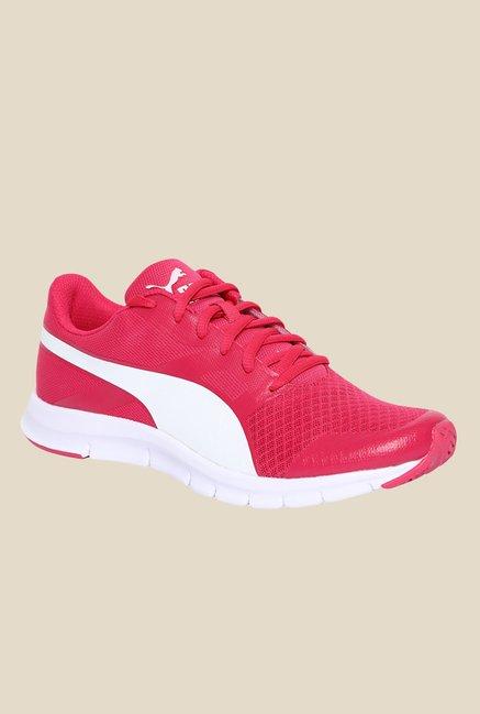 Puma Flexracer DP Pink Running Shoes