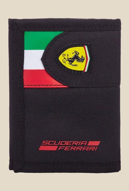 632d8dd4bcc1 Buy Puma Ferrari Fanwear Black Printed Wallet For Men At Best Price   Tata  CLiQ