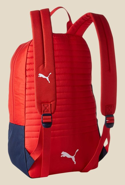 Buy Puma Arsenal Fanwear Red Printed Unisex Backpack For Men At Best ... be73754800
