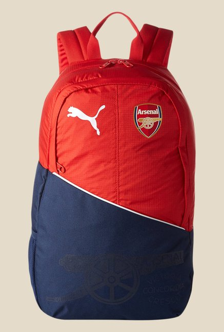 71cf5f34bf6e2 Buy Puma Arsenal Fanwear Red Printed Unisex Backpack For Men At Best Price    Tata CLiQ
