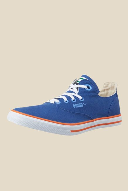 Buy Puma Limnos CAT 3 DP Blue Sneakers for Women at Best Price   Tata CLiQ 0d6eef7d0f