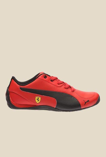 9ef459e01c20 Buy Puma Ferrari Drift Cat 5 L SF NU Jr Red Sneakers for Women at ...