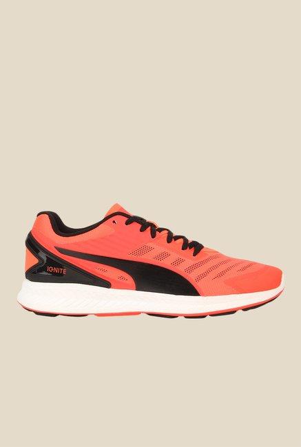 Los Angeles c0739 958d3 Buy Puma Ignite V2 Orange & Black Running Shoes for Men at ...
