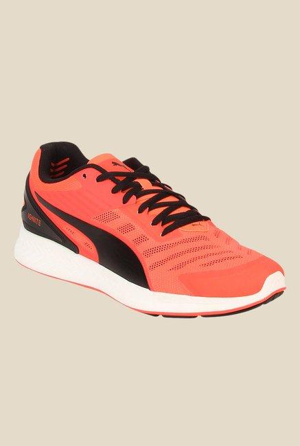cc29925a3acabf Buy Puma Ignite V2 Orange   Black Running Shoes for Men at Best Price    Tata CLiQ