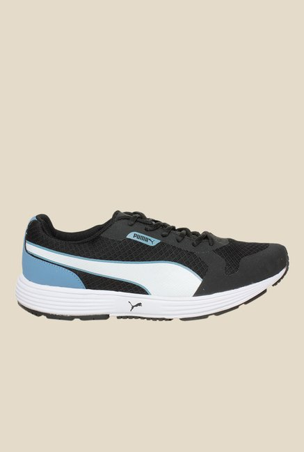 Buy Puma Future Runner II DP Black Running Shoes for Men at Best ... ac51d1564d3a