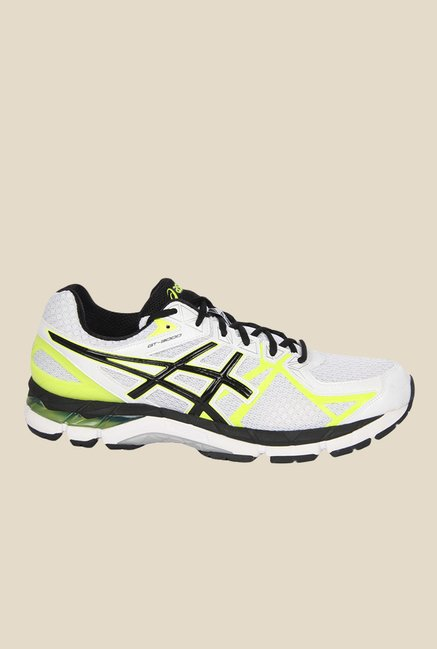 Buy Asics Gt-3000 3 White & Black Running Shoes for Men at Best ...