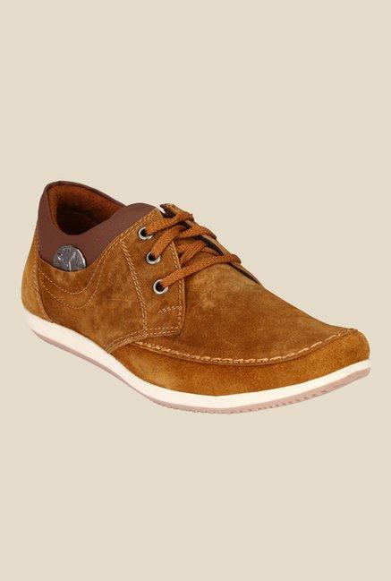 Ruggero Spit Zen Tan Derby Shoes