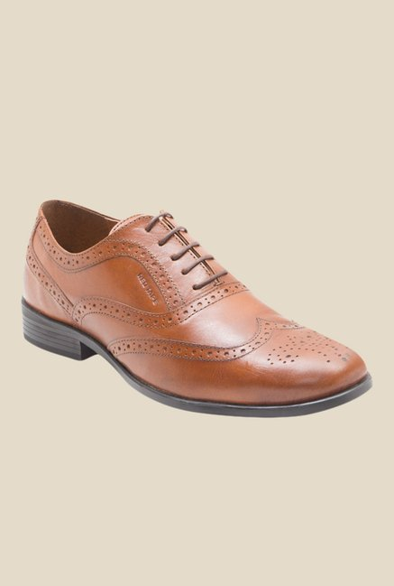 ca0b3bdcac1 Buy Red Tape Tan Brogue Shoes for Men at Best Price   Tata CLiQ