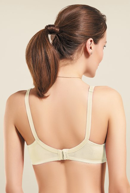 Amante Off White Non Padded Bra