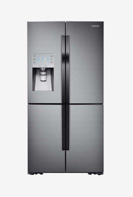 Samsung RF858QALAX3 893L Side by Side Refrigerator (Silver)