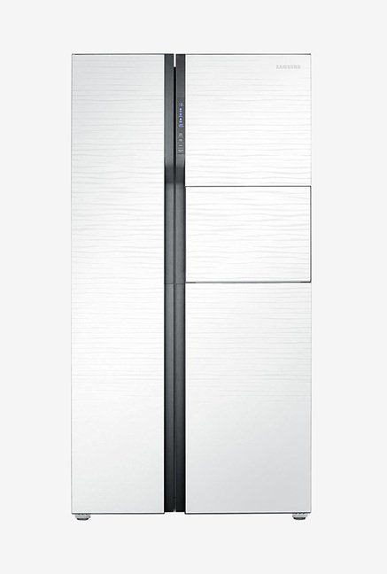 Samsung RS554NRUA1J 591L Side by Side Refrigerator  White