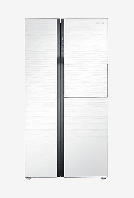 Samsung RS554NRUA1J 591L Side by Side Refrigerator (White)