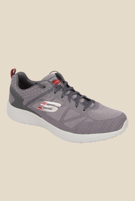 35db66b76df Buy Skechers Burst-Deal Closer Grey Sneakers for Men at Best Price   Tata  CLiQ