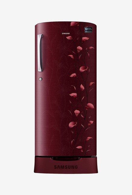 Samsung RR21K282ZRZ/NL 212L 5S Refrigerator (Red)