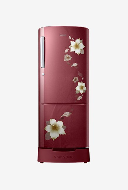 Samsung RR22K287ZR2/NL 212L 5S Refrigerator  Red  available at TatacliQ for Rs.18765