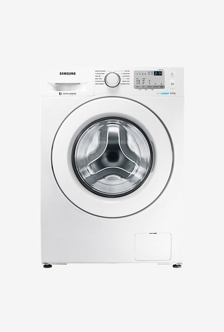 Samsung WW80J4213KW/TL 8 Kg Fully Automatic Front Load Washing Machine  White