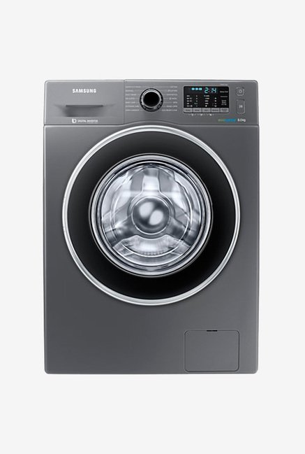 Samsung WW80J5410GX/TL 8 KG Front Load Fully Automatic Washing Machine, Grey