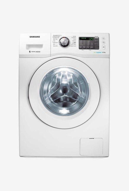Samsung WF600U0BHWQ/TL 6 Kg Washing Machine (White)