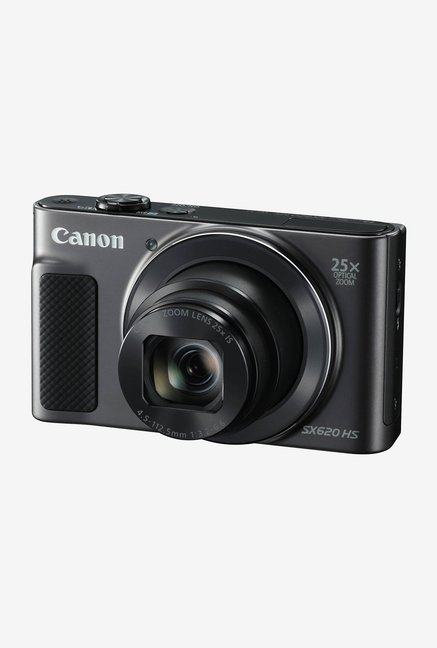 Canon PowerShot SX620 HS Point & Shoot Camera 8GB card + Charger + Carry Case (Black)