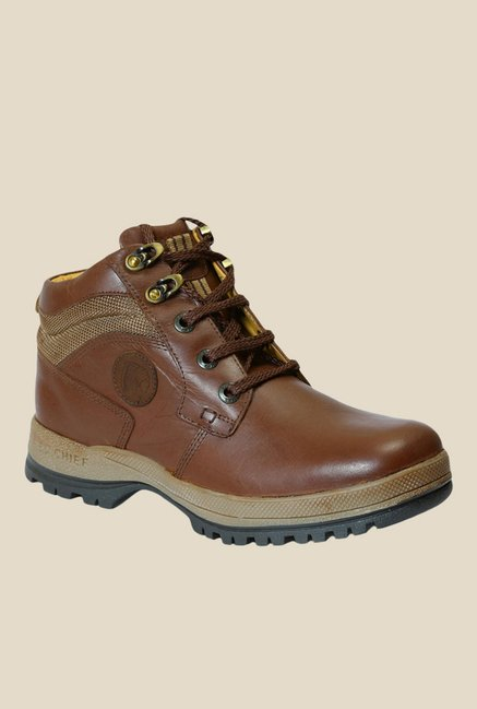 9a07d2adb2a4e Buy Red Chief Dark Brown Casual Boots for Men at Best Price @ Tata CLiQ