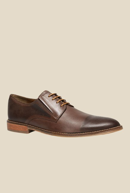 Hush Puppies Otis Brown Derby Shoes