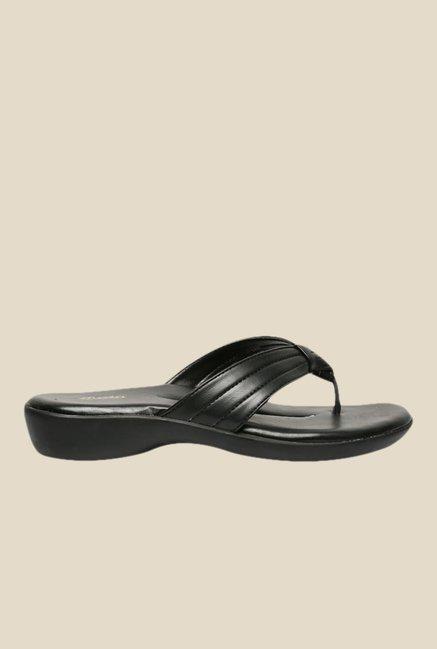 241f1437add0 Buy Bata Siara Black Thong Sandals for Women at Best Price   Tata CLiQ