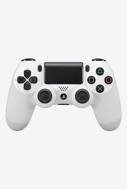 Sony DualShock 4 Wireless Controller Gamepad (White)