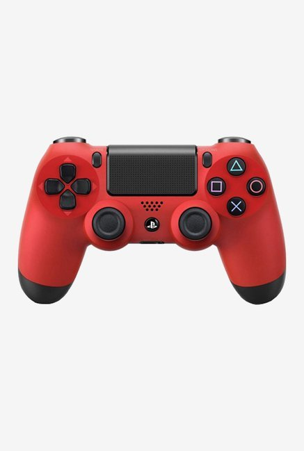 Sony DualShock 4 Wireless Controller Gamepad (Magma Red)