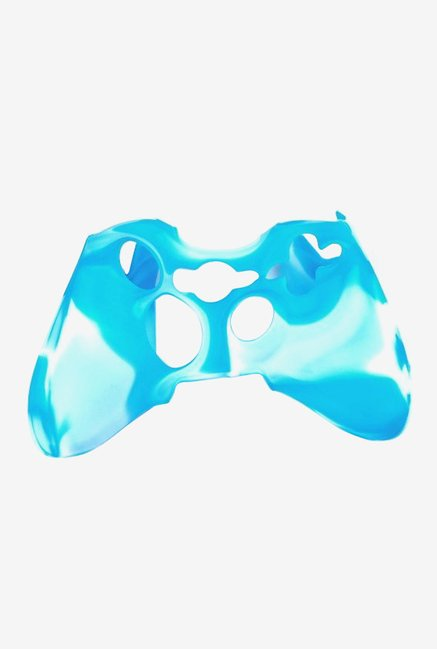 Microware Silicone Sleeve for Xbox 360 (Blue/White)