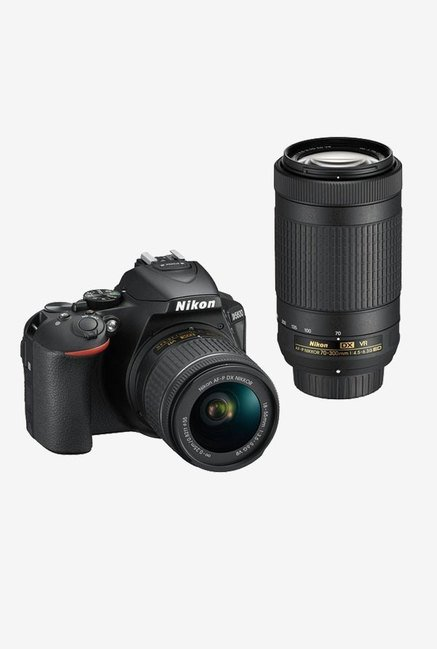 Nikon D5600 (AF-P DX 18-55mm/70-300mm ED VR Lens) DSLR Camera...
